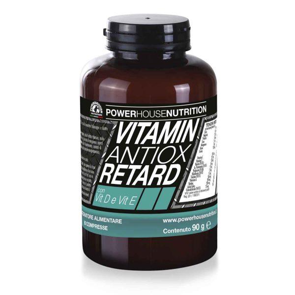 vitamine antiox retard powerhouse nutrition integratori
